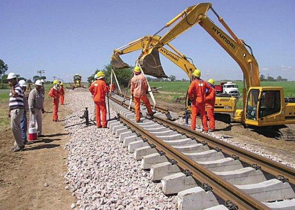 Resultado de imagen para obras tren general belgrano