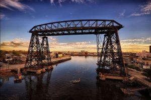 Volverá a funcionar el Puente Transbordador de La Boca