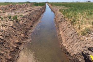 Limpieza del canal de la cuenca de Garione $1,6 Millones
