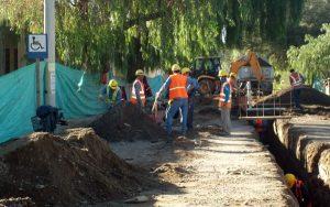 Obras cloacales para la zona oeste de Chimbas $370 Millones 2 Ofertas