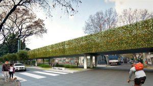 Cómo será el viaducto que elevará al tren San Martín entre Palermo y Paternal $3.099 Millones