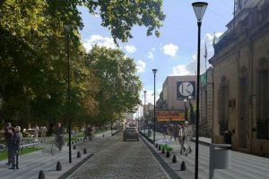 Lujan remodelación de la calle San Martín