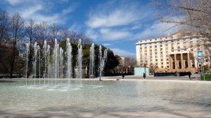Mendoza puesta en valor del Parque Cívico obra vial $66 Millones 5 Ofertas