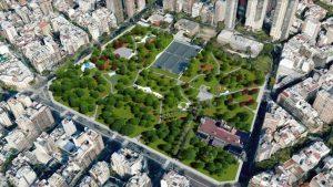 Salvatori hará la Puesta en Valor del Parque Las Heras $57 Millones