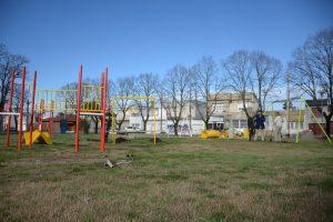 Olavarría obras de la plaza del barrio Bancario l 4 Ofertas