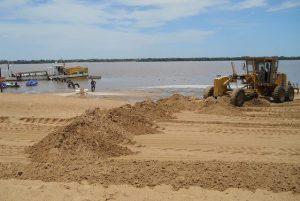 Presentaron tres propuestas para el refulado de arena en Banco Pelay $2 Millones