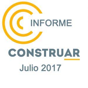 Informe CONSTRUAR obra pública Julio 2017