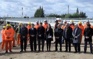 Vidal prevé tener listas para el próximo año 50 obras contra las inundaciones