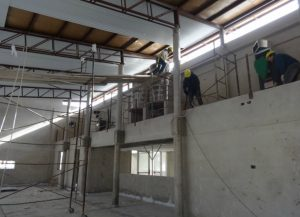 Construcción de colegio en Winifreda $40 millones 9 Ofertas
