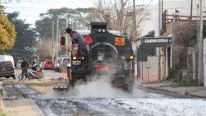 Distribuidor de tránsito y pavimentación en Tandil $7,5 Millones