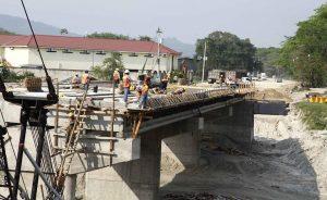 Tres empresas para construir el puente sobre el río Blanco $92 Millones