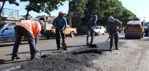 Bacheo en rutas del centro-oeste Santa Fe $ 60 millones