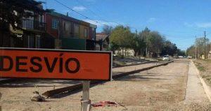 Adjudicación a D´Adam Hermanos la pavimentación de la calle Feldman Pto Madryn $ 6 Millones