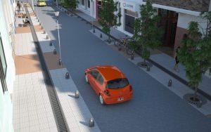Dos ofertas para la remodelación de la plaza 7 de Marzo Carmen de Patagones 12,7 Millones