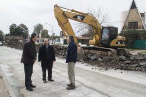 Se reinició la obra de la Avenida Bidegain en Azul $ 49 Milllones