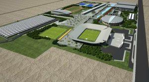 La Ciudad Parque de los Deportes toma forma