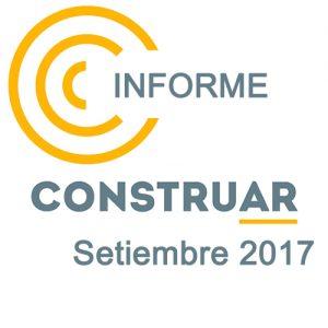 Informe CONSTRUAR obra pública Septiembre 2017