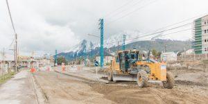 Zimentar SRL Comenzó los Trabajos de Repavimentación con Hormigón en la Avenida Hipólito Yrigoyen $ 4 Millones
