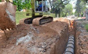 Obras de infraestructura para el centro de la ciudad de Zarate