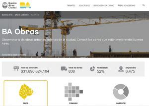Nueva web permite ver las obras en la Comuna 4