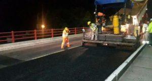 Ruta 168: Comenzarán trabajos nocturnos para apurar la repavimentación