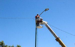 Mantenimiento del alumbrado público en Cipolletti
