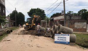 Arreglo de calles y nuevos pluviales, ejes de obras municipales para el próximo semestre en Corrientes