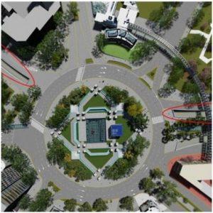 Construcción del Cruce Bajo Nivel Plaza España Única Oferta $ 325 Millones