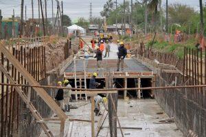 Adjudicaron a Proalsa los desagües pluviales de la Cuenca Sarmiento $ 213 Millones