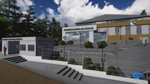 Hiza construirá el gimnasio del el CRUB Bariloche $ 62 Millones