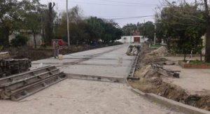 Construcción de 38 cuadras de pavimento en Formosa