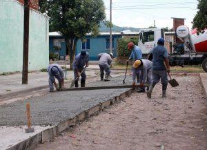 Jumi pavimentará varias calles del Barrio Coronel Arias