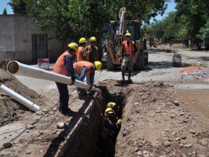Afirman que destinan $1.800 millones a mejoras en el sistema cloacal en Mendoza