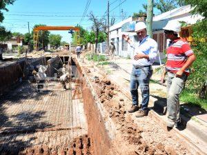 Cuenca Avellaneda: la obra está avanzada en un 60% y ya funciona de manera parcial