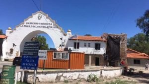 Terra SA comenzó la restauración del Arco del Desaguadero $20 millones