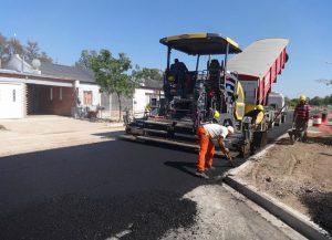 En Pico, asfaltaron 170 cuadras
