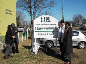 Dos Ofertas para el edificio del CAPS Eduardo De Santibañes