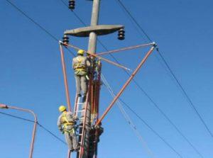"""Reacondicionamiento de la Línea de Media Tensión (LMT) 33 kV """"El Sauzal-Algarrobo del Aguila"""" $ 2,4 Millones"""