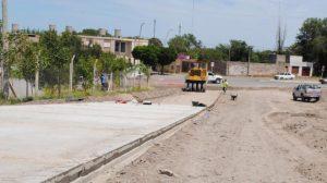 Avanzan las obras de asfalto en Patagones