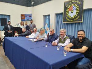 Cóccaro Hermanos construirá del gimnasio de la Escuela Superior de Policía de Tierra del Fuego