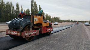 Le sacan brillo a obras viales en Neuquén