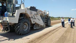 Eleprint SA – Construmez SA – Constructora Dos Arroyos SA pavimentación de la RP 77s  hasta Ambrosetti $ 211 Millones