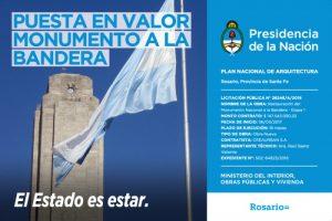 CREAURBAN S.A. Restaurara el Monumento Nacional a la Bandera