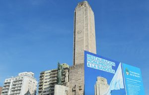 Nación dejó de pagar y la refacción del Monumento se frena