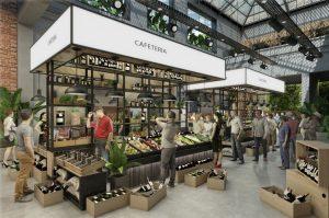 Así será el «Mercado de los Carruajes», el paseo gourmet que funcionará en el bajo porteño