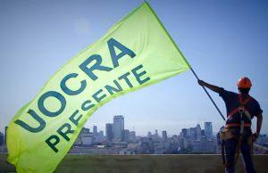 La Uocra se sumó a los gremios que acataron la pauta oficial del 15 por ciento
