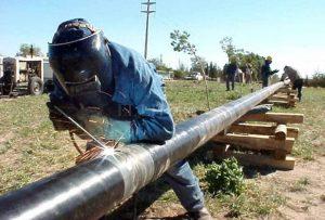 El Gasoducto Regional Centro II avanza por el sur de Esperanza
