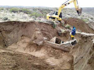 Confirmaron que la SCPL finalizará la obra de repotenciación del acueducto Lago Muster – Comodoro Rivadavia