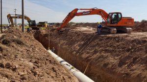 Destraban la obra del acueducto de Chaco