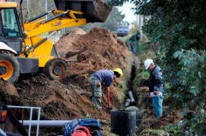Tandil ofertas para la obra de la red domiciliaria de cloacas del barrio San Juan $ 3 Millones